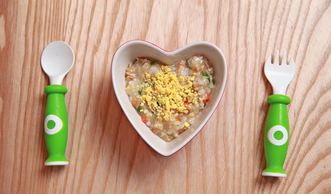 02小米燕麥魚蛋粥