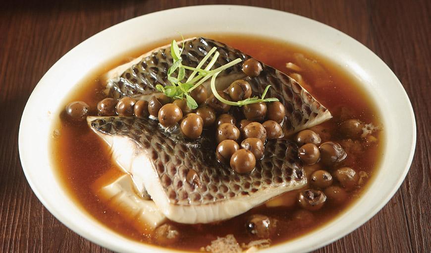 破布子蒸魚