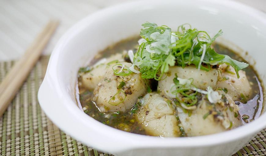 清蒸豉汁干貝