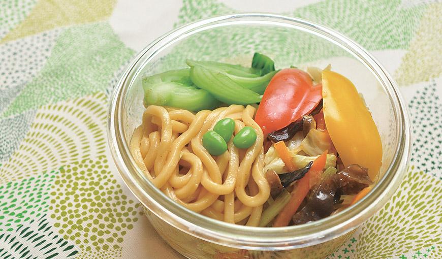 01蔬食炒麵便當