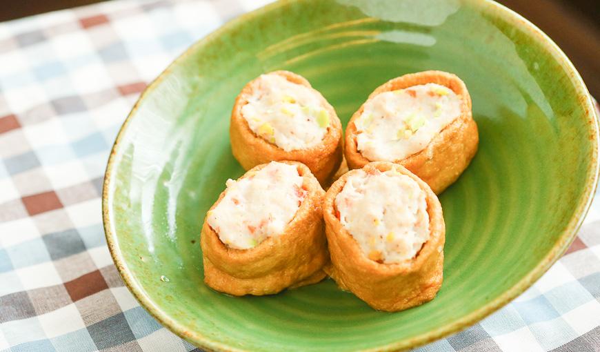 魚漿雞肉鑲豆皮