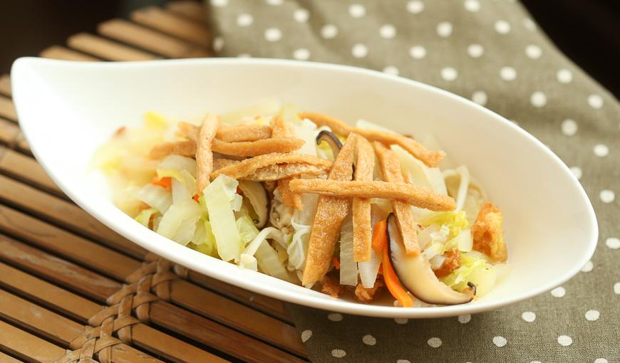 時蔬鮮菇繪豆皮
