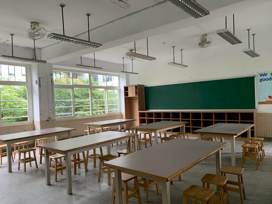 基金會計畫與關渡國中師生將閒置教室再利用,共同打造專屬的能源教室。 北市府公民電廠。公民電廠。太陽光電。干豆好。能源轉型。在地參與