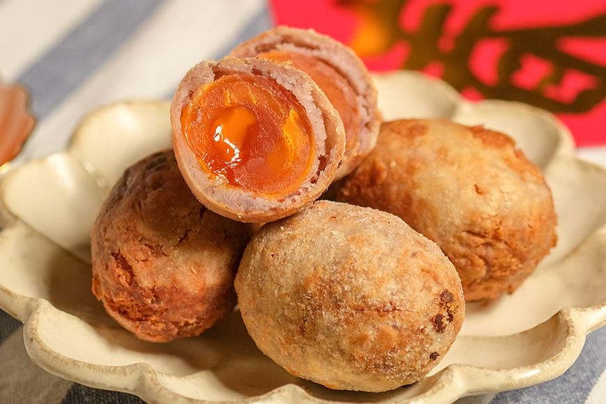 台式年菜大集合 宜手作復刻古早味年菜,找回阿嬤年代的味道 炸芋棗