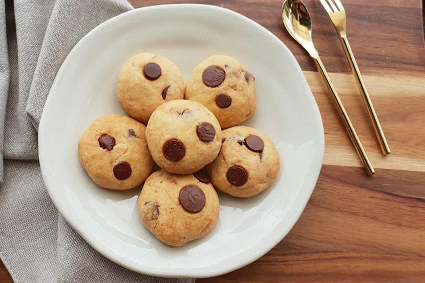 萬聖節。美式巧克力餅乾。甜點